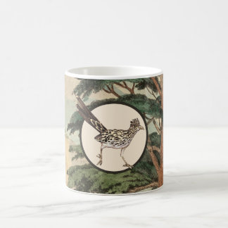 Roadrunner In Natural Habitat Illustration Coffee Mug