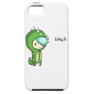 roaring dinosaur kid iPhone 5 case