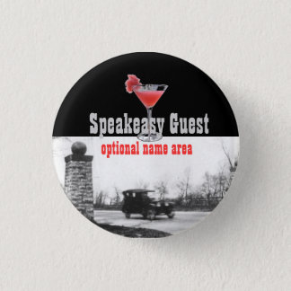 Roaring Twenties Party Souvenir 3 Cm Round Badge