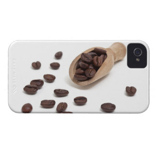 roast coffee beans with scoop iPhone 4 cover