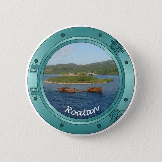 Roatan Porthole 6 Cm Round Badge