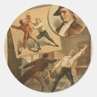 Robert .B. Mantell Round Sticker