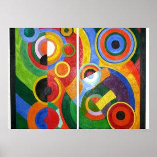 Robert Delaunay art: Rhythm Poster