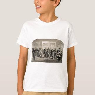 Robert E. Lee Surrenders to Ulysses S. Grant T-Shirt