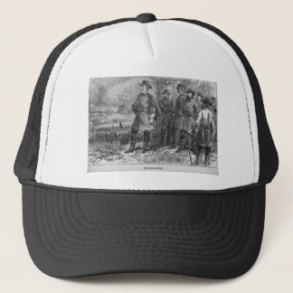 Robert E. Lee with his Soldiers at Fredericksburg Trucker Hat