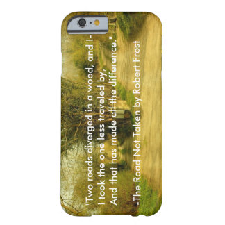 "Robert Frost's ""The Road Not Taken"" iPhone 6 case Barely There iPhone 6 Case"