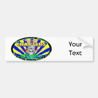 Robert Is Here Fruit Stand Chargers Car Bumper Sticker