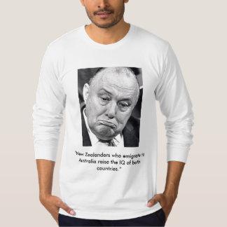 """Robert Muldoon, """"New Zealanders who emigrate ... T-Shirt"""