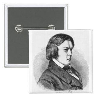Robert Schumann 15 Cm Square Badge