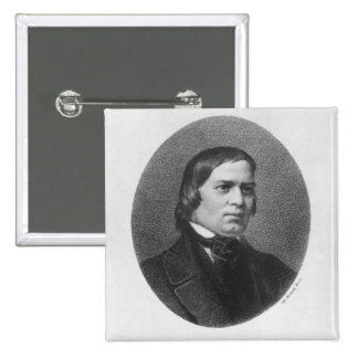 Robert Schumann, 1839 15 Cm Square Badge