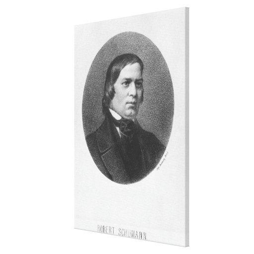 Robert Schumann, 1839 Gallery Wrap Canvas