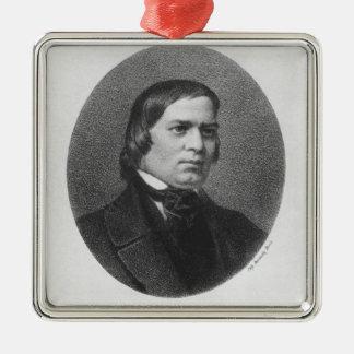 Robert Schumann, 1839 Christmas Ornament