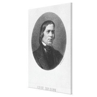 Robert Schumann, 1839 Gallery Wrapped Canvas