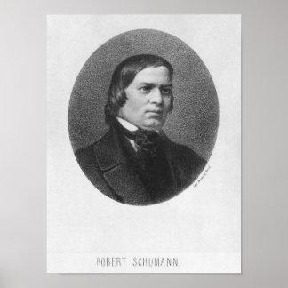 Robert Schumann, 1839 Poster