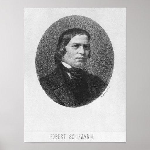 Robert Schumann, 1839 Posters