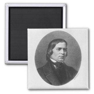 Robert Schumann, 1839 Square Magnet