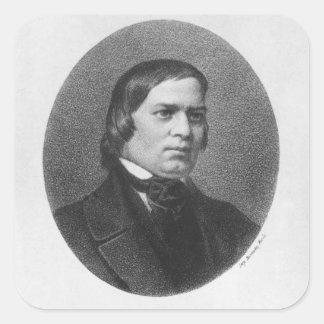 Robert Schumann, 1839 Square Sticker