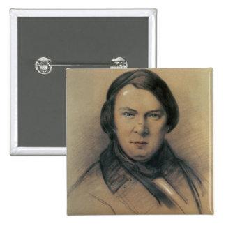 Robert Schumann  1853 15 Cm Square Badge