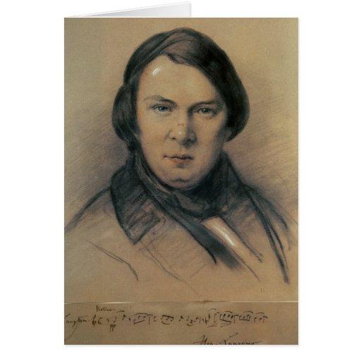Robert Schumann  1853 Cards