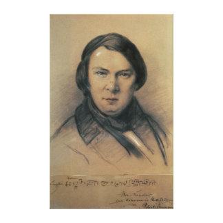 Robert Schumann  1853 Gallery Wrapped Canvas