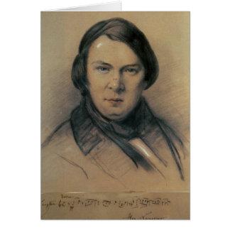 Robert Schumann  1853 Greeting Card