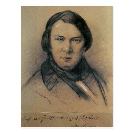 Robert Schumann  1853 Post Card
