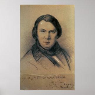 Robert Schumann  1853 Poster
