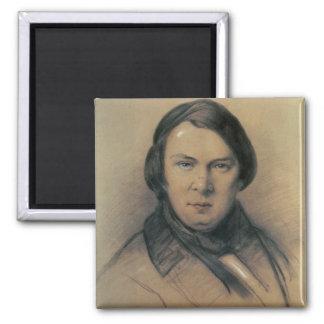 Robert Schumann  1853 Square Magnet
