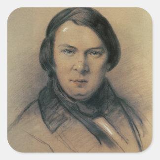 Robert Schumann  1853 Square Sticker