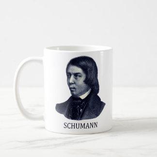 Robert Schumann, blue Coffee Mug