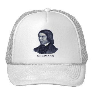 Robert Schumann, blue Mesh Hat