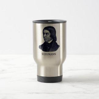 Robert Schumann, blue Travel Mug