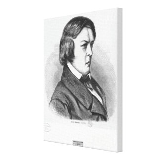 Robert Schumann Canvas Print