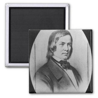Robert Schumann  engraved from a photograph Magnet