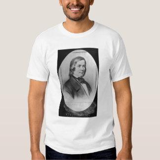Robert Schumann  engraved from a photograph Tshirt