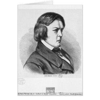 Robert Schumann Greeting Card