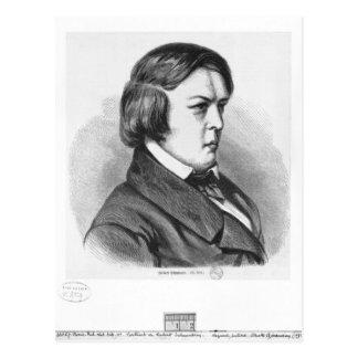 Robert Schumann Postcard