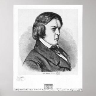 Robert Schumann Poster