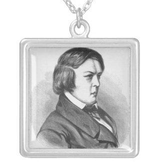 Robert Schumann Square Pendant Necklace