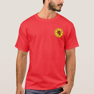 Robert the Bruce Red & Gold Seal Shirt