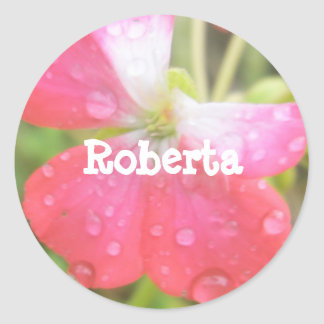 Roberta Classic Round Sticker
