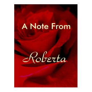 Roberta Postcard