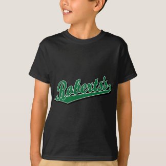 Roberts's in Green T-Shirt