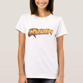 Robin Name Logo T-Shirt