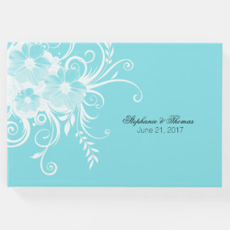 Robins Egg Blue Wedding Guest Book