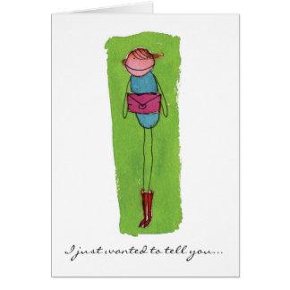 Robin's Greeting Card