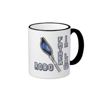 Robo Father-in-law Father's Day Gifts Ringer Mug