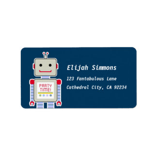 Robot Address Labels