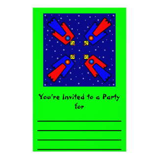 Robot Design Personalised Stationery