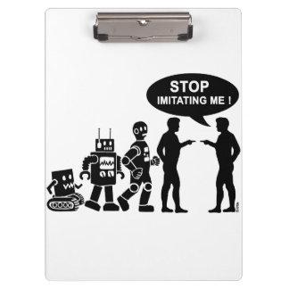 Robot evolution clipboard